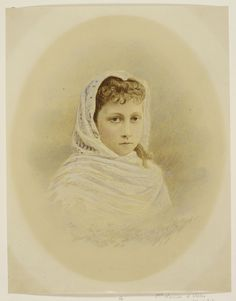 Princess Louise (Louise Victoria Alexandra Dagmar) (20 Feb 1867-4 Jan 1931) UK. She is 3rd child of King Edward VII (Albert Edward) (1841-1910) UK & wife Princess Alexandra (1844-1925) Denmark. Wife 1889 of 3rd cousin Alexander William George Duff  (10 Nov 1849-29 Jan 1912), 1st Duke of Fife, Viscount Mac Duff, UK. Alexander is 3rd child of James Duff (1814-1879) 5th Earl Fife, Scotland & Lady Agnes Georgiana Elizabeth Hay (1829-1869) Ireland.