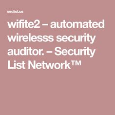 56 Best WiFi Penetration Test images in 2018 | Wifi, Linux, Linux kernel