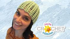 Crochet Cloche Hat - Vintage-Inspired Lace Beanie for Ladies by JaydaInStitches on Etsy