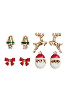 4 pairs earrings 4,99 €