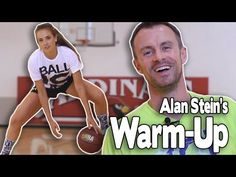 PRE-GAME WARM-UP ROUTINE | featuring Alan Stein | Stronger Team & Shot Science Basketball - YouTube