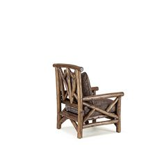 Rustic Club Chair (Shown in Kahlua Finish with Optional Loose Cushion) La… Rustic Chair, Rustic Furniture, Club Chairs, Furniture Making, Cushions, Collection, Design, Home Decor, Throw Pillows