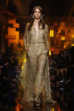 Elie Saab Couture Fall Winter 2015 Paris