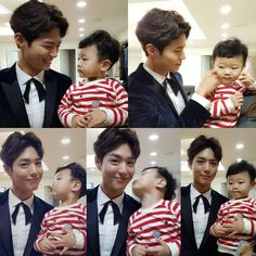 Park Bo Gum and Daebak on Superman Returns