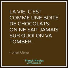 La vie c'est comme une boite de chocolats... À partager sans modération ;-)