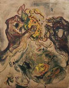 EATING CRABS  , affandi