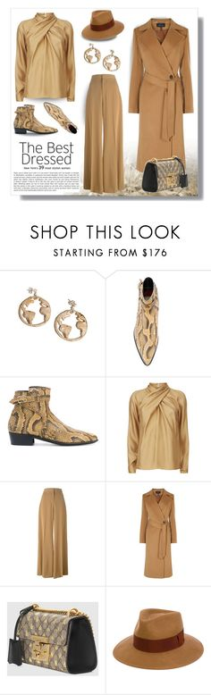 """""""The Best Dressed: Neutrals"""" by affton ❤ liked on Polyvore featuring Paul Smith, Temperley London, STELLA McCARTNEY, Karen Millen and Gucci"""