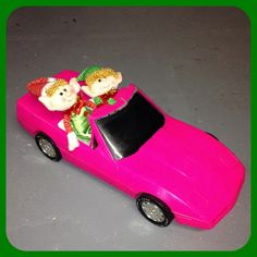 Day 19: Jovie and Buddy borrowed Barbi's corvette for the day!