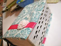 DIY Fabric Scripture Covers! Great idea for a Young Women's Activity!