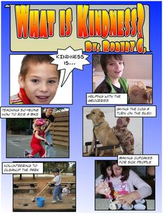 2nd Grade Kindness Unit Technology Lesson Plan Comic Strip ( my school is all about kindness lessons) this may be a great idea!!