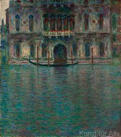Claude Monet - Le Palais Contarini, Venise (Palazzo Contarini del Zaffo, Venedig)
