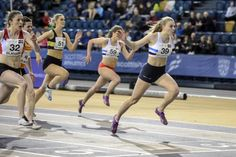Sprinter Alisha Rees claims 35-year-old record at Scottish Indoor Championships