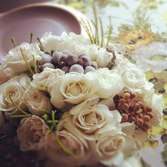 my #thanksgiving tabletop florals