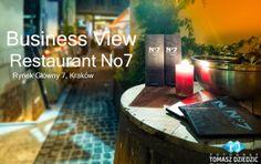 Wirtualna Wycieczka Business View po Restauracji No7 w Krakowie. Usługa Business View to szereg korzyści. Więcej na stronie www.zdjecia-reklamowe.pl/blog