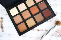 Morphe Brushes '12NB' Natural Beauty Palette