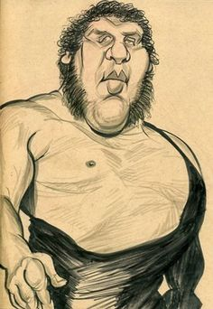 Andre the Giant (by Zack Wallenfang)