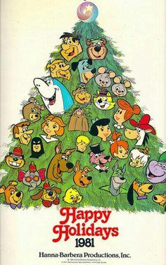 Hanna Barbera Christmas 1981. They made the BEST/cutest cartoons. I still watch em' on Boomerang  :*)