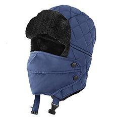7408c4e711f0c Beautiful OMECHY Unisex Winter Trooper Trapper Hat Hunting Hat Ushanka Ear  Flap Chin Strap with Windproof