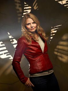 Jennifer Morrison. Emma on ONCE, makes me want to smack her. But she killed it on House and made me cry as Kirk's mom in the new Trek.