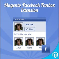 FaceBook FanBox Extension for Magento