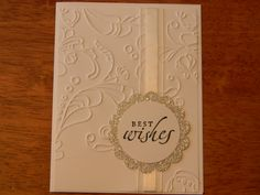 Simple and clean Stampin' Up! card