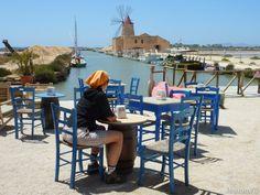 #Sicilia - #Riserva dello Stagnone ed isola di #Mozia.