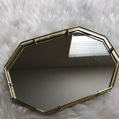 Gold vanity tray now up in the shop!