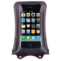 Dicapac WP-i10 Waterproof Case for iPhone 4 or 3G/3GS, (Brown)