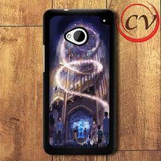 Disney Fantasy Castle HTC One M7 Black Case