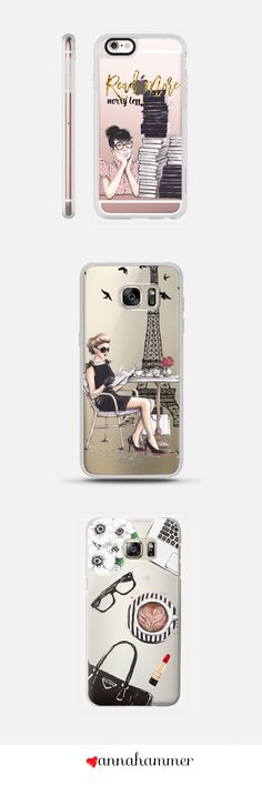 Clear Phone Cases at Casetify, by anna hammer