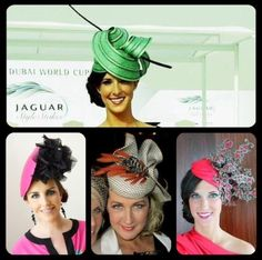 Millinery | Fascinator | Hat | Headwear | Karen Hamilton Millinery | Aspirations | Spring Racing | Sunday 22nd September | 12 - 4 pm | 38 Church St, Brighton. Melbourne