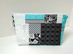 Patchwork Print Essential Oil Bag by OilyBagCo on Etsy