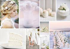 Hochzeitsdeko in klassisch Weiß | Friedatheres.com
