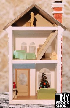 Dollhouse For Barbie! More Styles! - Tiny Frock Shop