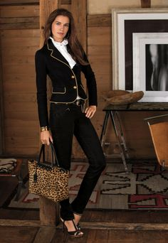 e16710cdca8 Mix a little military into your style this holiday season Equestrian Style