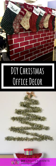 DIY Christmas Office Decor Ideas for the employee on a budget. By MissKay DIY DIY Christmas Office Decor Ideas for the employee on a budget. By MissKay DIY Christmas Cubicle Decorations, Christmas Door Decorating Contest, Christmas Themes, Christmas Diy, Office Decorations, Christmas Centerpieces, Holiday Decorating, Office Christmas Party, Christmas Decoration For Office