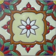 conventional relief tiles are highly decorative they are created by rustica house in mexico and