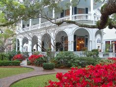 Meeting Street Inn Bed and Breakfast in Charleston, SC.  Haunted!!! many stories of encounters in one room.