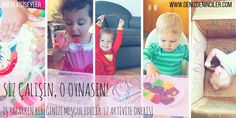 İş yaparken bebeğinizi meşgul edecek 12 eğitici aktivite önerisi (1-2 yaş)