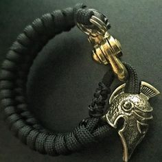 "@para_dime on Instagram: ""Legionary Deluxe- Marine Brass, Handcrafted Legionary bead, featuring a heavy duty brass shackle. This thing is badass. ______________________________________ Visit www.theoriginalparadime.com to purchase. ______________________________________ For custom ordering options, please email me at theoriginalparadime@gmail.com"""