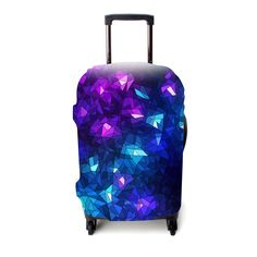 Shatterproof Christmas Ornaments Travel Luggage Protector Case Suitcase Protector For Man/&Woman Fits 18-32 Inch Luggage