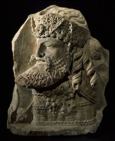 Fragment of a two sided relief  Second half of the 1st century  Hermitage Museum