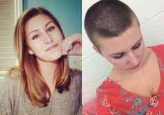 flattoper88:therealkatehowell What a beautiful young lady, with and without hair.