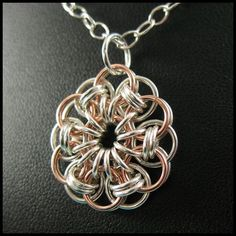 chainmail flower