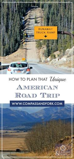 How to Plan that Unique American Road Trip www.compassandfork.com #roadtrip #bucketlist #travel #traveltips #USA