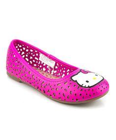 Pink Baylee Ballet Flat