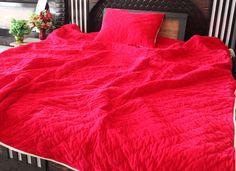 Velvet Bedding Sets, Velvet Duvet, King Size Duvet Covers, White Duvet Covers, Pink Quilts, Cotton Quilts, Cotton Fabric, California King Quilts, Queen Size Quilt