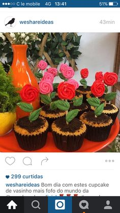 Vasinho cupcake