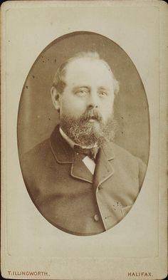 www.pastonpaper.com | Carte de Visite of Unidentified Male, Halifax, 1860s Facial Hair, Old Photos, Pictures, Carte De Visite, Old Pictures, Face Hair, Vintage Photos