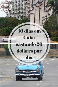 Foram 30 dias pela ilha de Cuba, passando por cidades como Havana, Cienfuego, Santa Clara, Trinidad, Varadero, Camaguey, Santiago de Cuba, Baracoa, Bayamo e Moron.  Confira mais no blog.